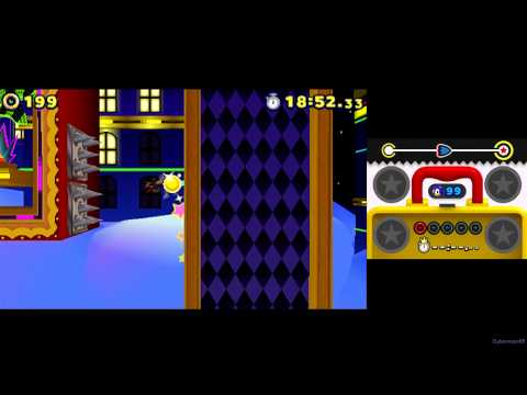 Sonic Lost World ~ 3DS [Part 9 ~ All Extra Zones ~ S Rank]