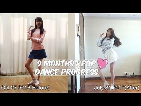 9 Months Kpop Dance Progress (Bonnie Bun)