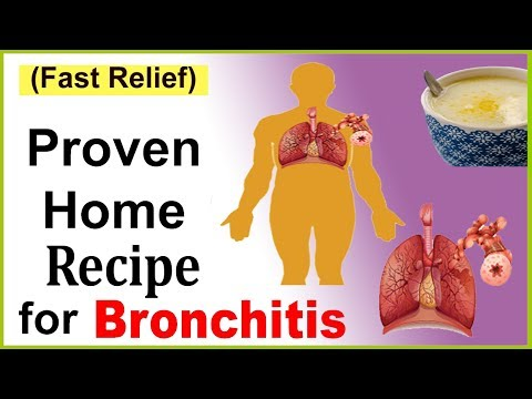 Best Home Recipe For Bronchitis And Cough -  Get Rid Of Bronchitis Naturally
