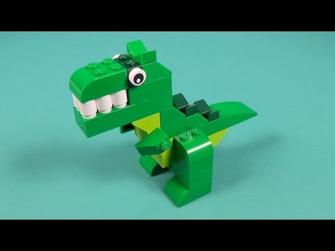 Lego Dino Building Instructions - Lego Classic 10693