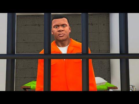 GTA 5 - ESCAPE the PRISON!