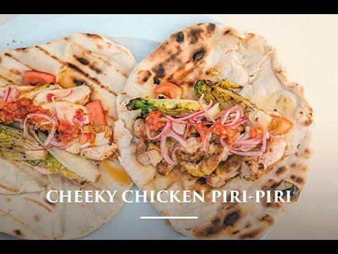 Cheeky Chicken Piri Piri Wraps