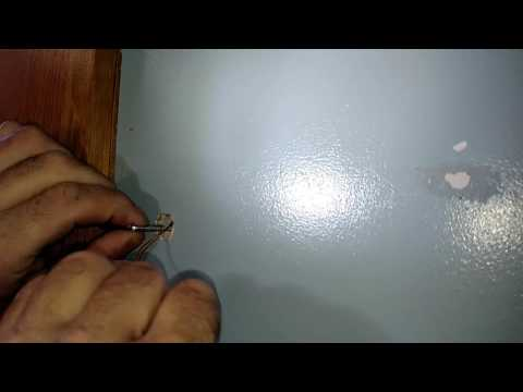 How to remove a toggle bolt without losing the anchor behind the wall