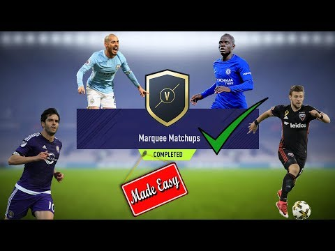 FIFA 18 Marquee Matchups Made Easy!  Feb. 27     Plus Gold 2 Weekly & Monthly Pack Opening