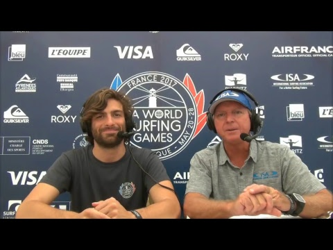 Day 7 – 2017 ISA World Surfing Games - French