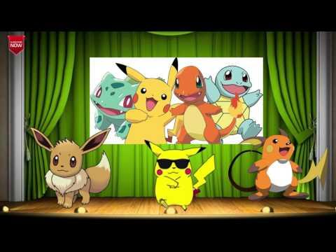 Pikachu dance kids song, Pokemon songs, pikachu songs & Nursery Rhyme For Children, pikachu song