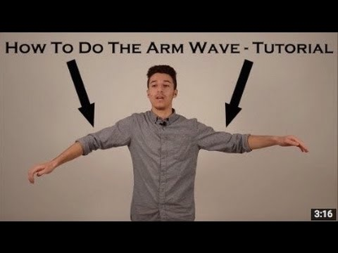 How To Dance To Dubstep | Arm Wave Tutorial | Step by Step Basics on Waving