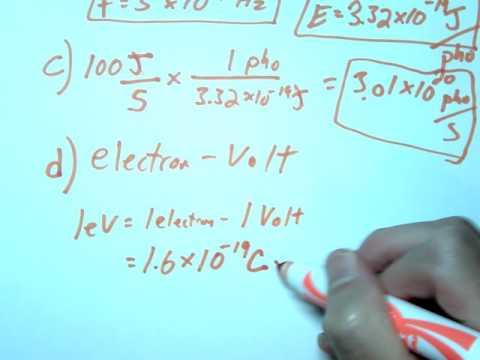 photon example calculation