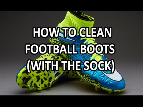 Nike Hypervenom | How to clean sock boots