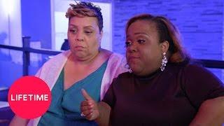 Little Women: Atlanta - Tammie Tosses Chicken Wings at Juicy (Season 2, Episode 2) | Lifetime