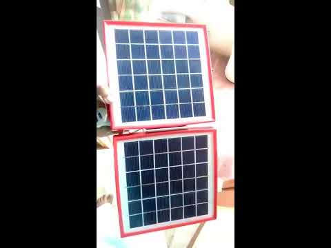 SOLAR MOBILE CHARGER ANY PHONE CAN CHARGE