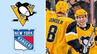 Pittsburgh Penguins vs. New York Rangers | EXTENDED HIGHLIGHTS | 2/17/19 | NHL on NBC