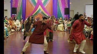 Family Mehndi Dance | Bride's Cousins | Silman Saleem