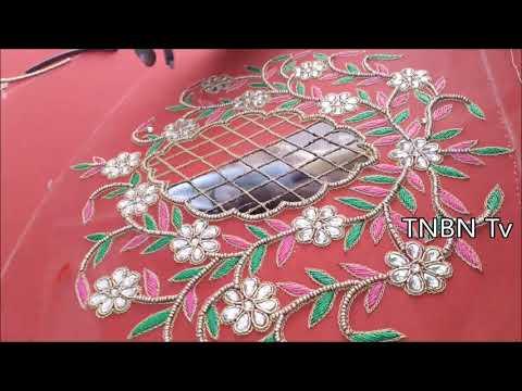 designer blouse designs | maggam work tutorial for beginners | Latest Blouse Designs | TNBN Tv Live