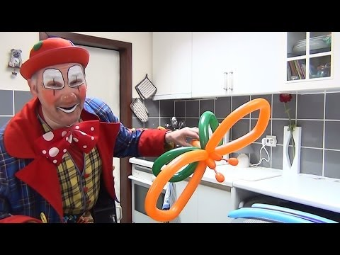 How to make an easy 3 balloon butterfly