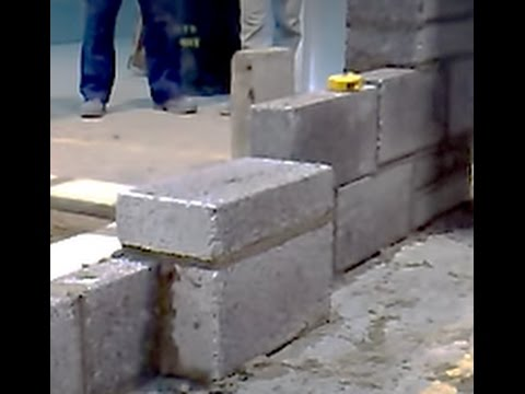 Blockwork Piers Intermediate (video 7 of 8)