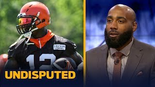 DeAngelo Hall joins Skip and Shannon to talk Patriots, Josh Gordon trade | NFL | UNDISPUTED