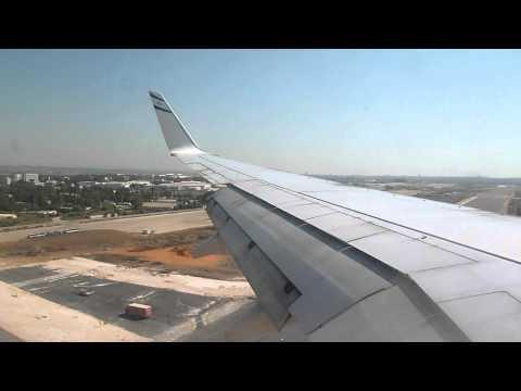 737-800 EL AL landing Tel-Aviv Ben Gurion