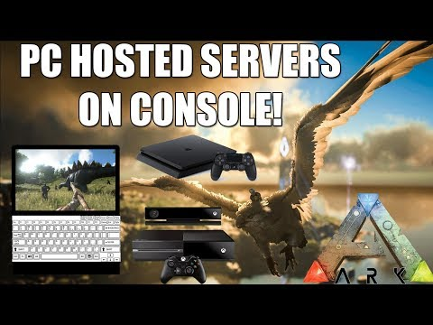 ARK - HUGEST ARK SECRET! - PC HOSTED SERVERS FOR CONSOLE ARE HERE! - NEW XBOX/PS4 UPDATE!