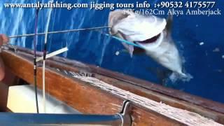 Jigging Antalya 44kg-162cm Akya Amberjack/jigging Tour İnfo: 90532 4175577
