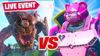 Fortnite *LIVE* Monster VS Robot Final Showdown  Event!