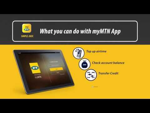 My MTN App