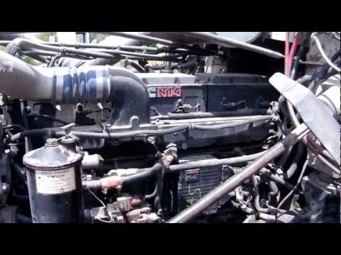 Cummins N14 Celect Engine Start