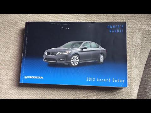 Honda Accord 2013-2017 cabin Air Filter Replacement
