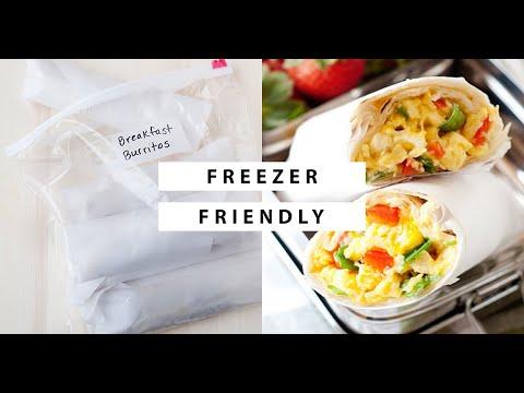 Make-Ahead Freezer Friendly Breakfast Burritos