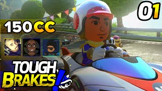 It All Starts With A Blue Shell... | Tough Brakes! #1 - Mario Kart 8 w/ Friends (S2E1)