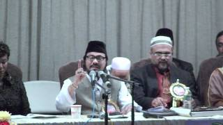 Rafeeq Bin Sayedee Talkes about his Father at MUNA Conference in New York,USA
