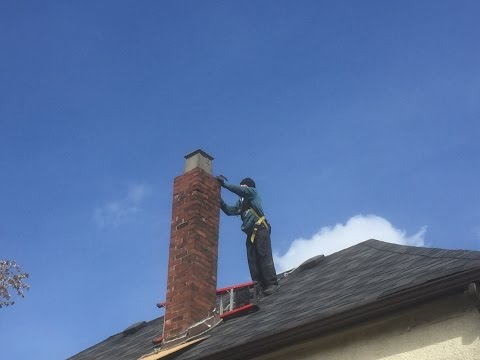 Diy Removing a Chimney Brick By Brick