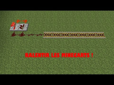 RALENTIR LES MINECARTS SUR MINECRAFT ! [PS3,PS4,XBOX,ONE,PC]