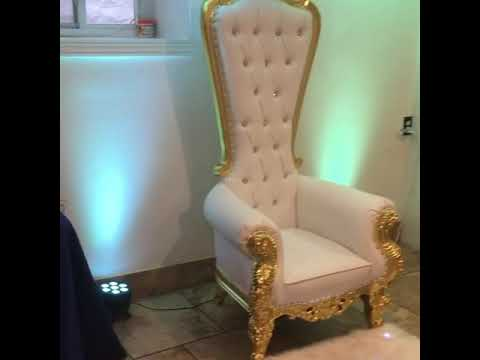 Baby shower chair package Lexington event rentals 347-670-4255