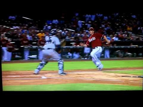Stephen Drew fractures his ankle **WARNING** not for the faint of heart!