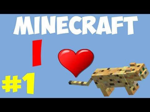 Minecraft: I LOVE CATS #1 - Where dem Cats at?!