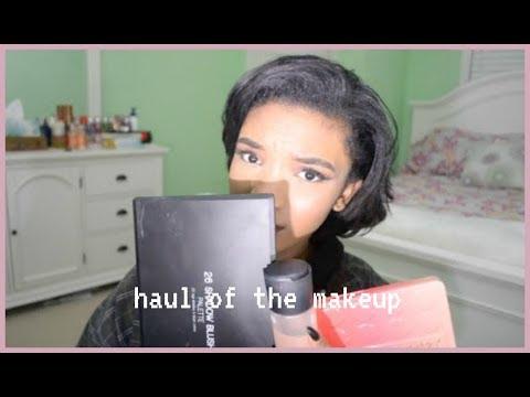 Makeup haul//
