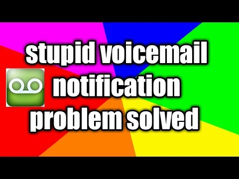 How to remove voicemail notification for android mobile