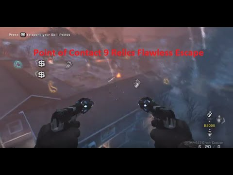 Point of Contact 9 Relics Co-op Flawless Escape