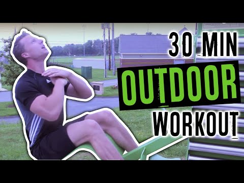 Outdoor Gym Workout Circuit - Live Lean TV
