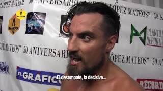 """Marty Scurll: """"El Bullet Club vendrá a México, si nos pagan"""""""