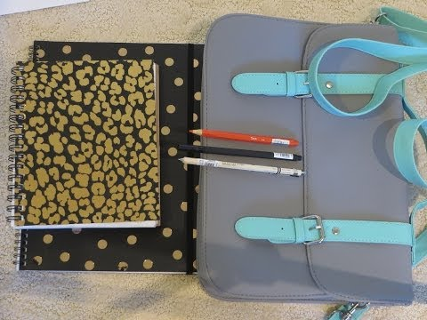 Typo - Notebooks, Pens, Pencils, and Taylor Bag