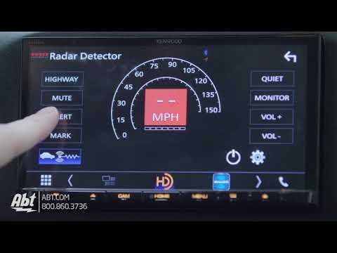 Overview: K40 RL360di Radar Detector Display On Kenwood DDX9904S