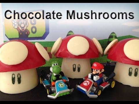 Super Mario Mushrooms CHOCOLATE  How To Cook That Ann Reardon