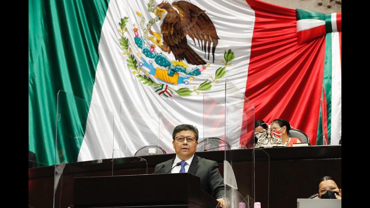 Dip. Rubén Cayetano (MORENA) - A favor de la Ley Orgánica del Poder Judicial de la Federación