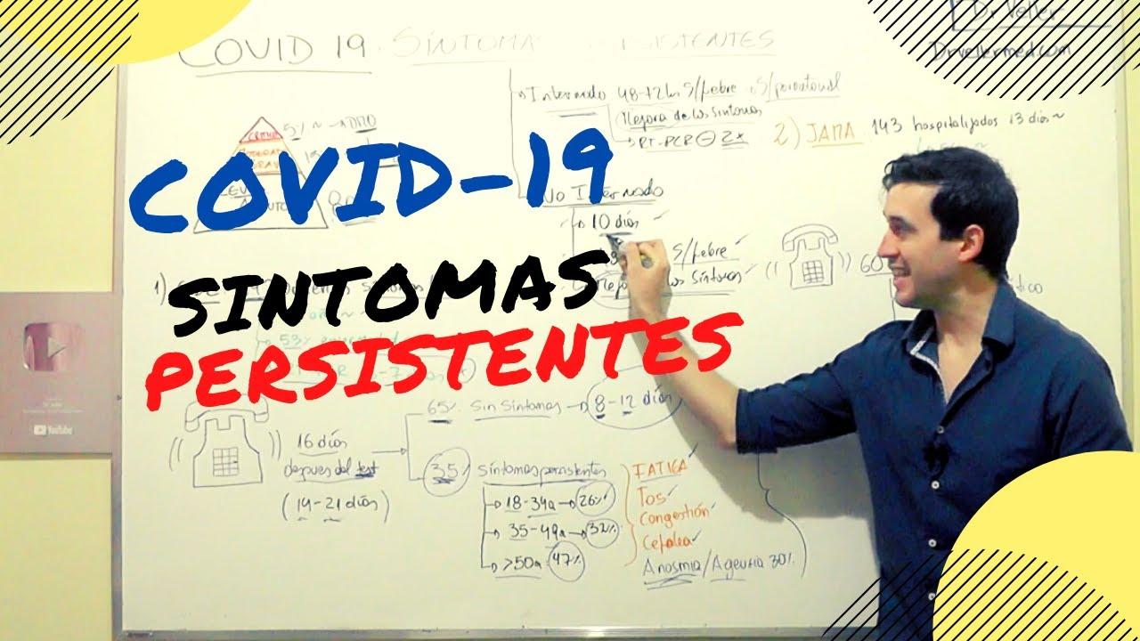 COVID 19 ¿Cuánto duran los síntomas?