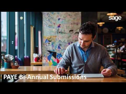 Sage Pastel Payroll: Bi-annual Submissions 2017/2018