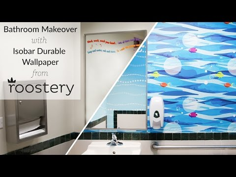 Introducing...New Isobar Durable Wallpaper from Roostery