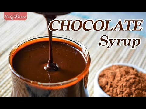 Chocolate Syrup recipe | How to make chocolate syrup at home | chocolate sauce recipe |  Chocolate