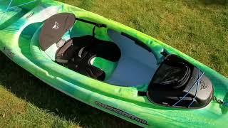 Pelican Premium Mission 100 Kayak unboxing - Costco 2019